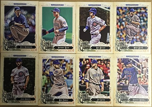 2017 Topps Factory, Heritage, Gypsy Queen & Opening Day Chicago Cubs 4 Team Set Lot Gift Pack 56 Cards 2016 World Series Champions Anthony Rizzo Jake ...