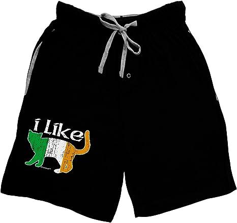 TooLoud I Like Irish Cat Silhouette Womens Thong Underwear