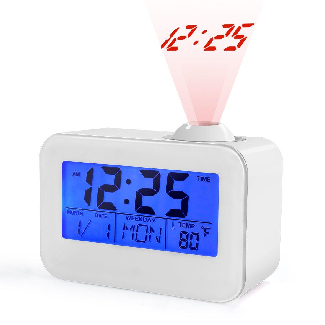 Amazoncom USCVIS Projection Alarm Clock Alarm Clocks