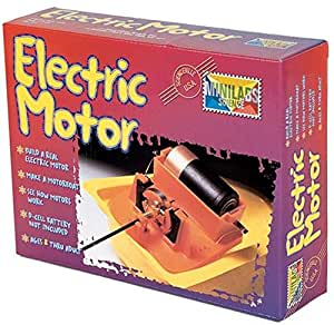 Minilabs Science Build A Real Electic Motor Science Kit