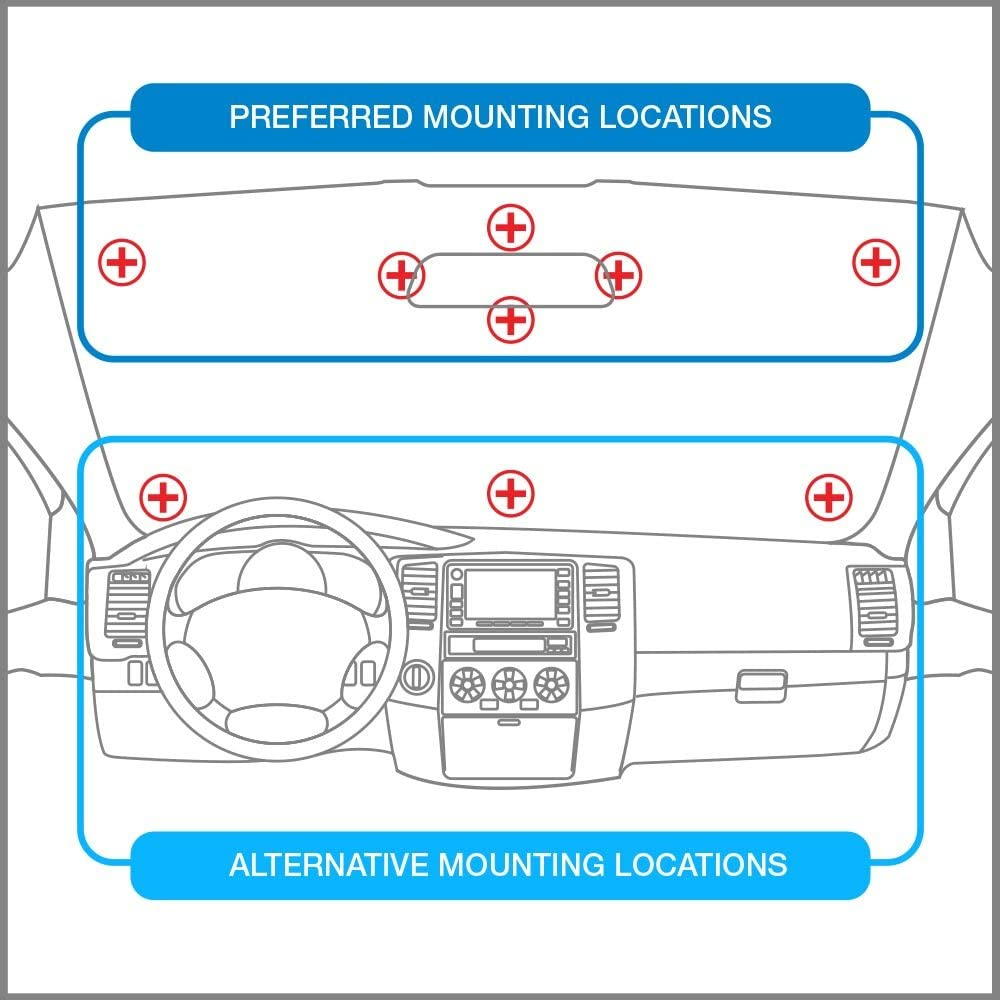 IPass Holder//Toll Pass Holder for Most US States//Toll Pass Windshield Mount//Easy to Install and Remove//with 4pcs Toll Pass Mounting Strips//UV-Protective AutoBoxClub US Flag EZ Pass Holder