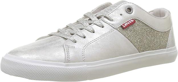 Levi's Woods W Sneakers Damen Silber