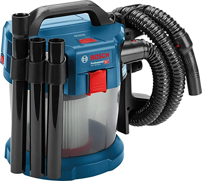 Bosch Professional 06019C6301 Aspirador a Batería, Azul/Transparente, 10 l, 18 V: Amazon.es: Bricolaje y herramientas
