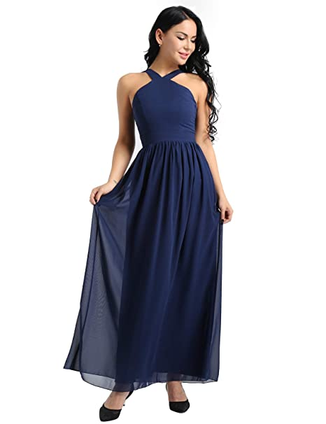 4d14d3e49 iixpin Vestido Elegante de Boda Fiesta Cóctel para Mujer Dama de ...
