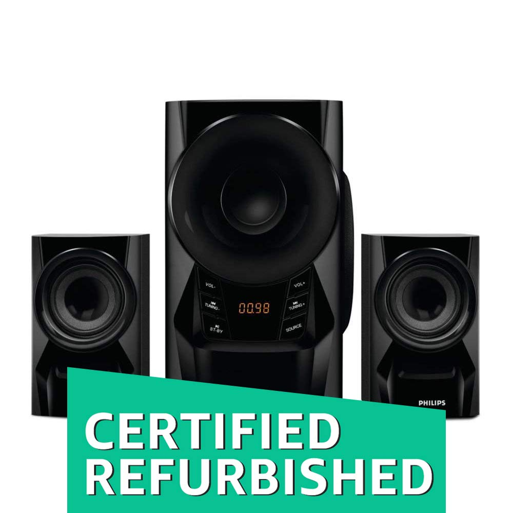 (CERTIFIED REFURBISHED) Philips IN-MMS6080B/94 2.1 Speaker