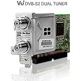 Vu + 10008355–Tuner Dual DVB-S2, couleur argent