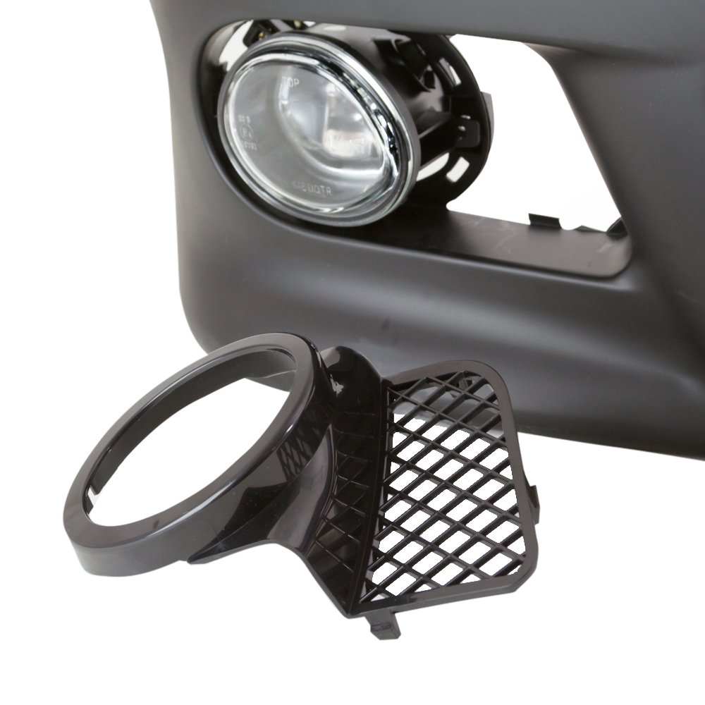 TopPick Black Open Mesh Grille Grill FOR BMW E39 w// M5 style front bumper 1998-2003 51112496283-51112496284