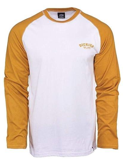 729b5f4056f3 Dickies T-Shirt Raglan À Manches Longues Femme Baseball Dijon (XL ...