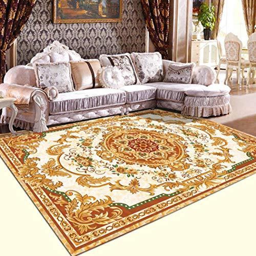 (WONNA Vintage Classic Kilims Area Rug Collection Southwestern Tribal Design Carpet Slip Skid Resistant Backing Doormat for Home Decor)