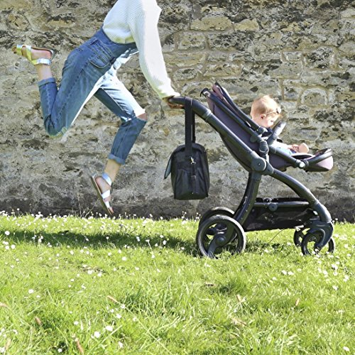Caboodle Bolsa para Cambiar Bebé Classic - Negra