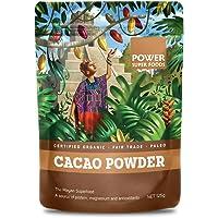 Power Super Foods Cert. Org. Cacao Powder (Kraft), 125 g