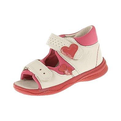 Superfit Schuhe Baby Sommerschuh Weiss Sandale für Mädchen vNmw08n