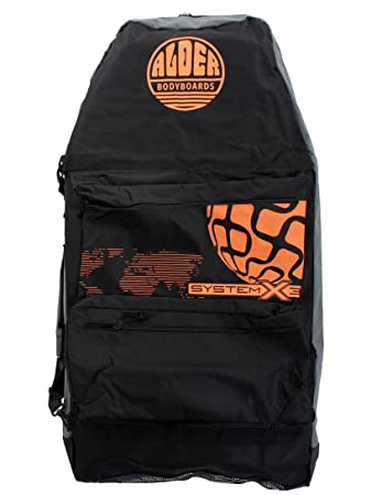 81f0b627409 Image Unavailable. Image not available for. Colour  Alder System X3 44 inch  Three board bodyboard bag - Red Black
