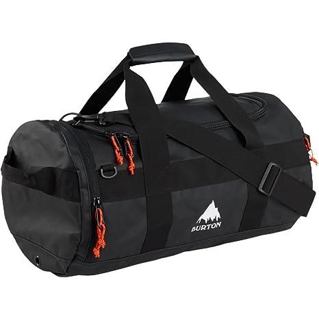 72cf2ee0646 Amazon.com  Burton Backhill Duffel Bag Small 40L True Black Tarp NA  Garden    Outdoor
