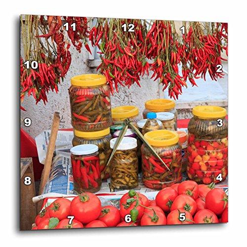 Food - Turkey, Izmir, Kusadasi. Local market, red peppers