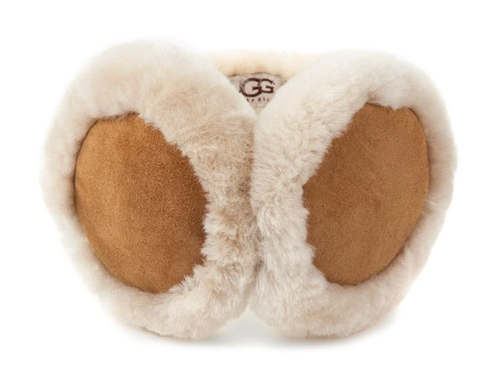 UGG Women's Classic Earmuff  with Speaker Technology Chestnut One Size