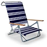 Amazon.com: Telescopio Casual Sol y Arena plegable silla de ...