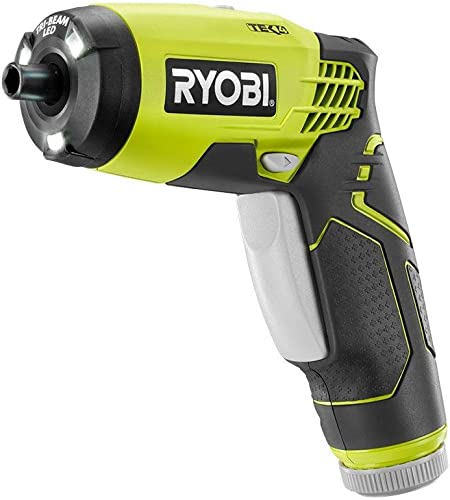 Ryobi HP54L 4V Lithium Ion 600RPM 1 4 Inch Hex Chuck Compact Quickturn Screwdriver 4V Lithium Ion Battery and Charger Included