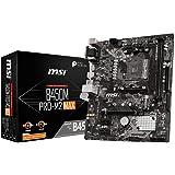 MSI B450M PRO-M2 MAX Motherboard mATX, AM4, DDR4, LAN, USB 3.2 Gen1, M.2, VGA, DVI-D, HDMI, AMD RYZEN 1st, 2nd and 3rd…