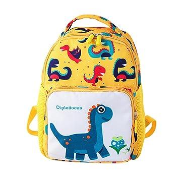 Fossrn Mochilas Niños Escolares Dinosaurio Animal Infantil Bolso Escolar para infantiles Niño Niña Guardería Primaria (
