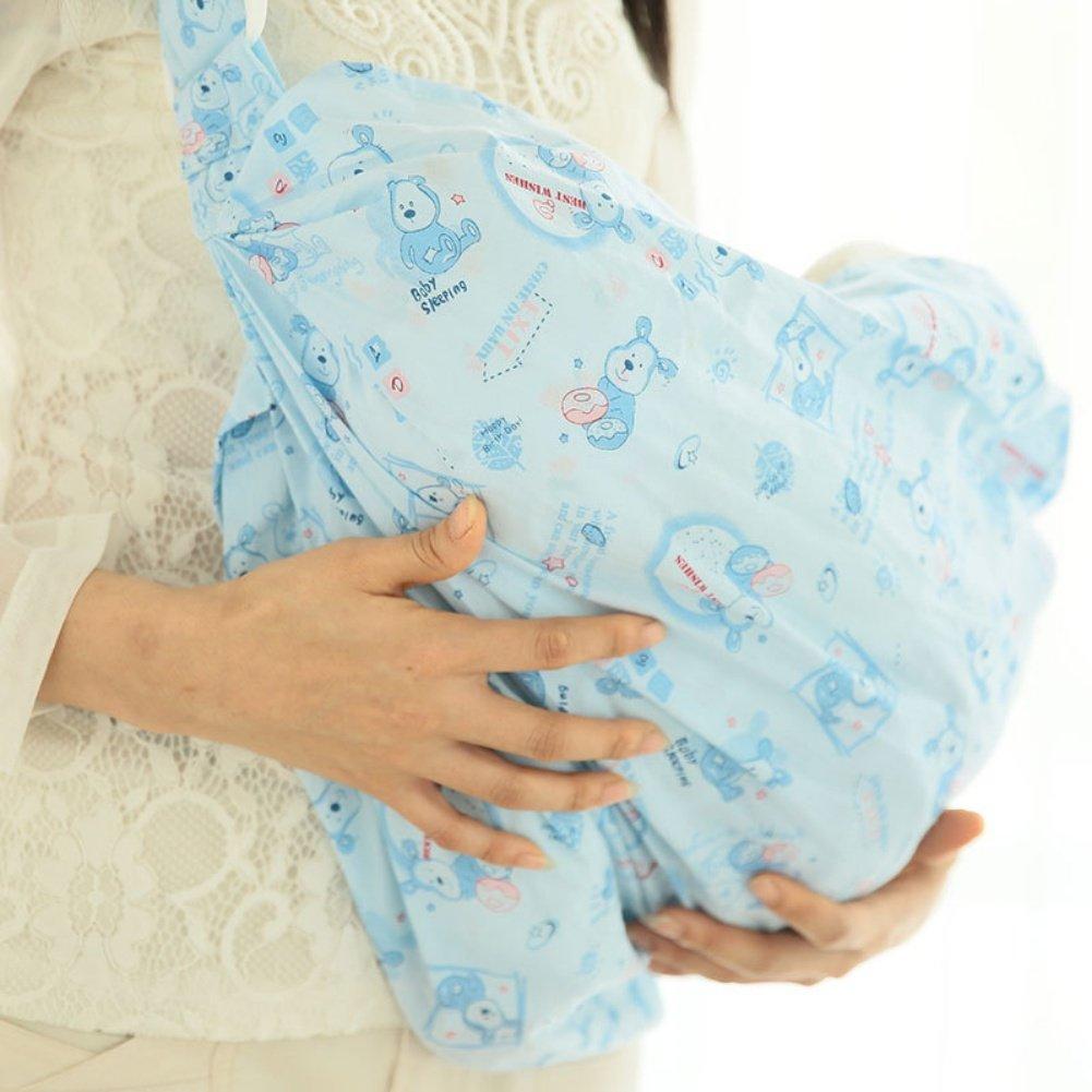 artbro Infant Neugeborenen Baby bequem atmungsaktiv Diagonal vorne Swaddle Stillende Tragbares Design Embrace Little One Sling Moby Wrap Carrier