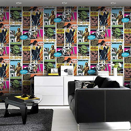 Star Wars Pop Art Collage Wallpaper Buy Online In Maldives At Desertcart
