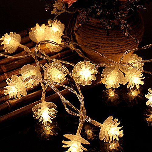 Led Pine Cone Christmas Lights in US - 4