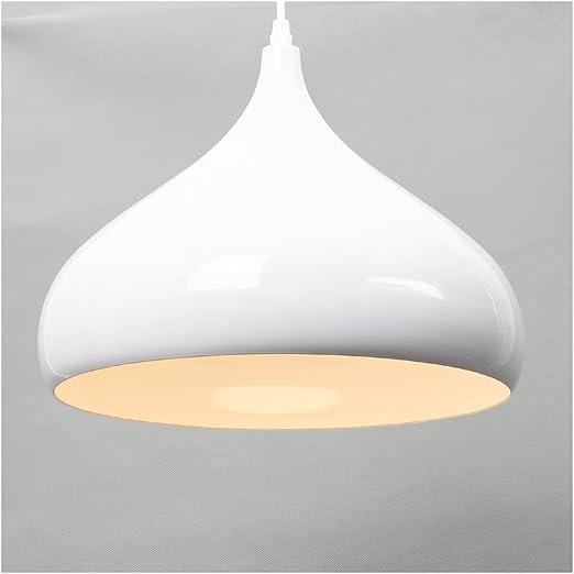 Ceiling lighting modern white metal pendant light shade chandelier ceiling lighting modern white metal pendant light shade chandelier lighting e27 base aloadofball Image collections