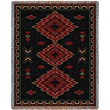 Pure Country Weavers ''Taos Blanket'' Tapestry Throw