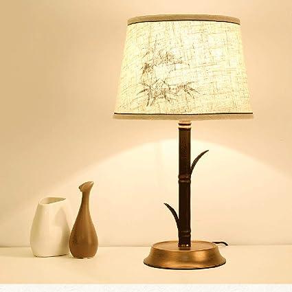 Amazon.com: SunHai Retro Table Lamp Creative Wrought Iron ...