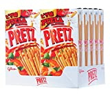 Glico Pretz Biscuit Stick, Pizza Flavored, 1.09 Ounce (Pack of 10)