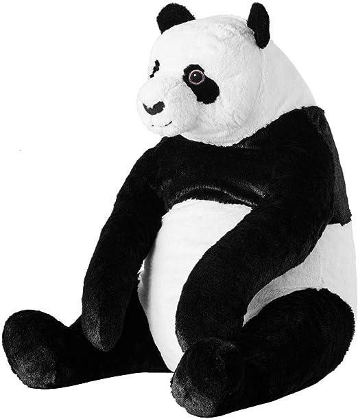 IKEA Large Sitting Hugging Wildlife PANDA Soft Plush Cuddly Kids Toy FREE POST