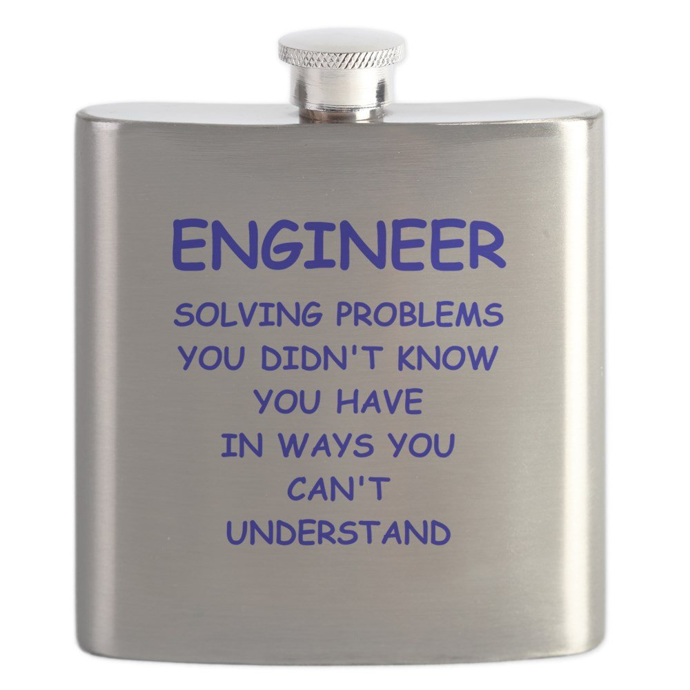 50%OFF CafePress – Engineer Engineer – ステンレススチールフラスコ、6オンスDrinkingフラスコ – B01CKJ0FXU B01CKJ0FXU, ワキチョウ:c68077ef --- newsdarpan.in