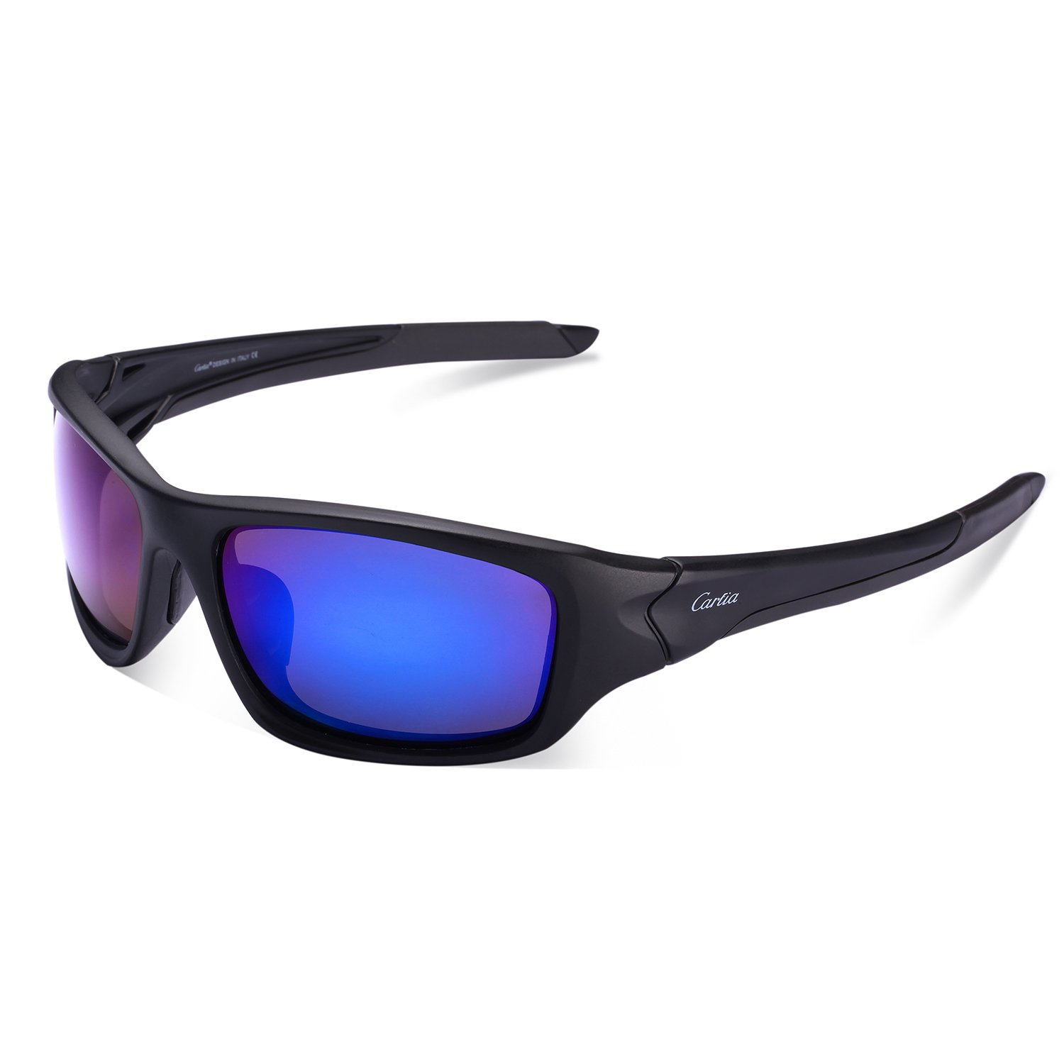 Sports Sunglasses - Carfia Cycling Running Fishing Sunglasses for Men by Carfia