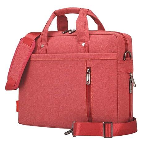 WULIFANG Bolsa para Ordenador Portátil De 17 Pulgadas Airbag Antichoque Impermeable Bolsa Equipo Hombres Y Mujeres