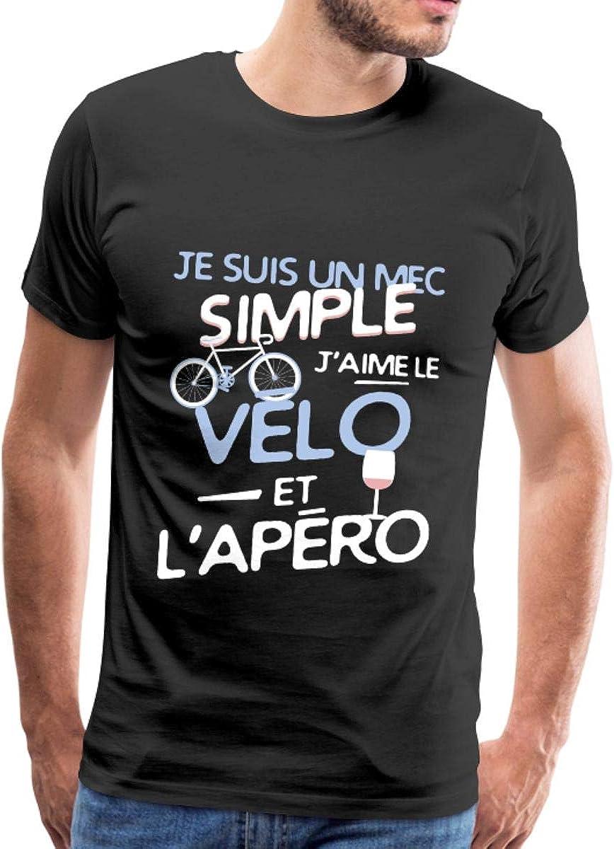 Jaime Le V/élo Et LAp/éro T-Shirt Premium Homme