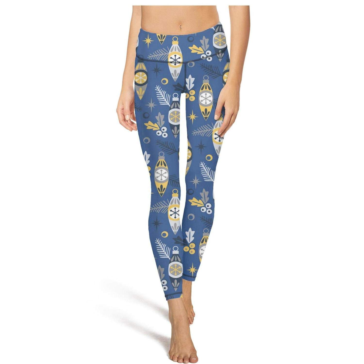 Christmas Holly Ornaments Medium Shadfyvgf Womens High Waisted Yoga Pants Cute Fluffy Squirrels and Nuts Leggings Outfit