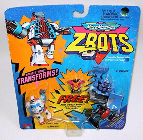 Micro Machines ZBots (Z-bots) Bitebots 3 Pack #25 for sale  Delivered anywhere in USA