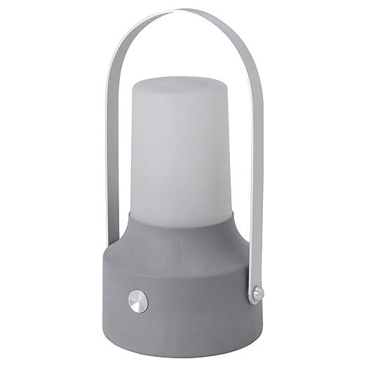 Ikea Solvinden Solare Lanterna Led Di Colore Grigio Amazon It