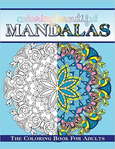 Amazon Coloring Beautiful Mandalas The Book For Adults Sacred Mandala Designs And Patterns Books Volume 95