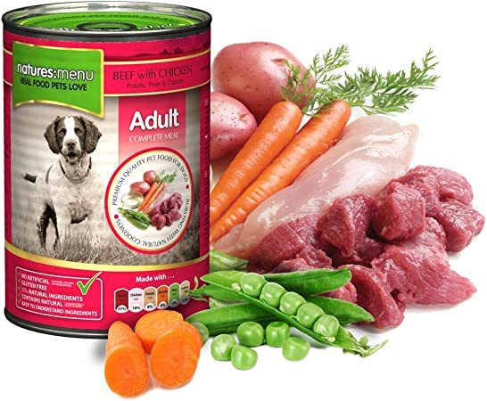 Imagen deNATURES MENU Dog Food Can Beef with Chicken (12 x 400g)