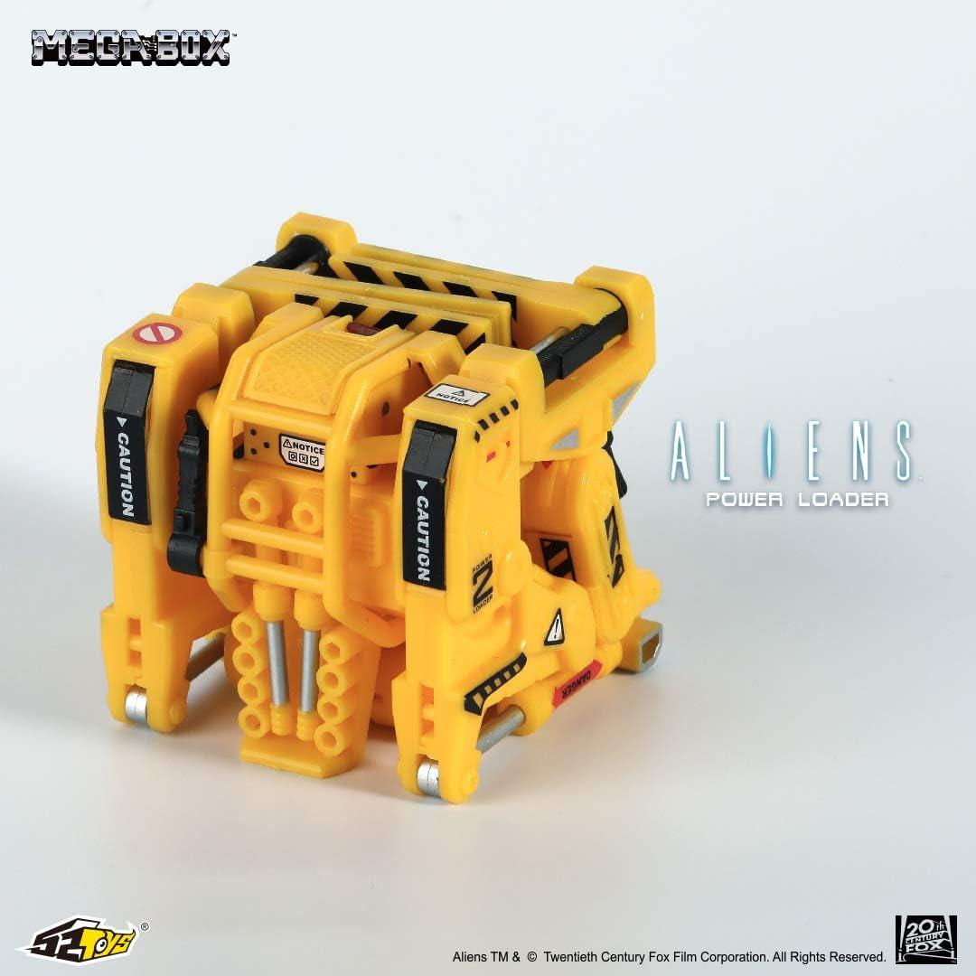 52 jouets Mega transformable Alien Power Loader NEUF