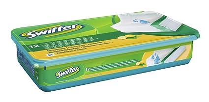 Swiffer - Recambios de toallitas húmedas (pack de 4 x 12 unidades)