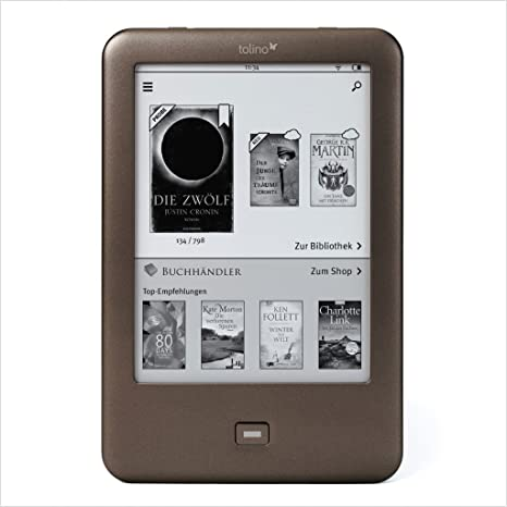 Tolino Shine - E-Reader (15.24 cm (6