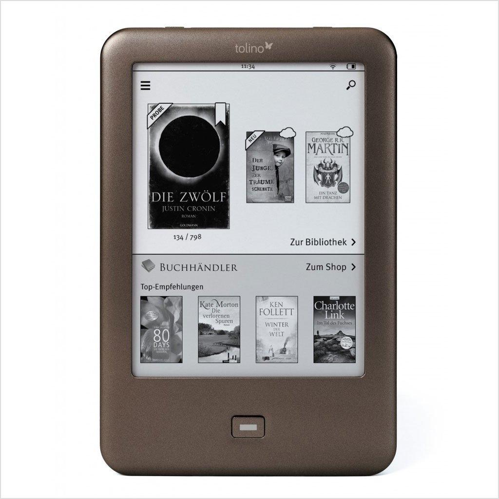 "Tolino Shine - E-Reader (15.24 cm (6""), E Ink, 1024 x 758 Pixeles, ePub, PDF, TXT, 4 GB, MicroSD (TransFlash)) 99920389"