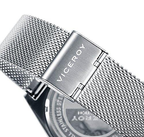 Viceroy herr multiurtavla kvarts smart klocka armbandsur med rostfritt stål armband 471147-17