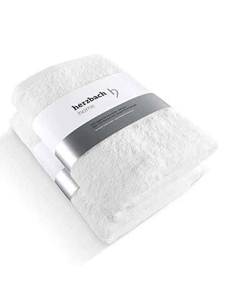Juego de 2 toallas de calidad prémium de Herzbach Home de 100 % algodón egipcio 50 x 100 cm, 600 g/m², algodón, verde menta, 50 x 100 cm: Amazon.es: Hogar
