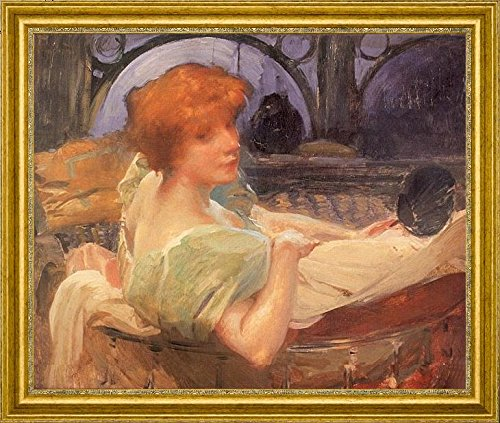 portrait-de-mme-georges-rodenbach-by-paul-albert-besnard-15-x-19-framed-premium-canvas-print