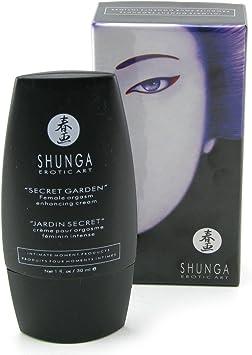 Shunga Jardín Secreto Crema Orgásmica, Color Negro - 30 ml: SHUNGA: Amazon.es: Salud y cuidado personal