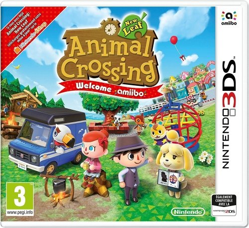 Nintendo Animal Crossing New Leaf Welcome Amiibo Juego